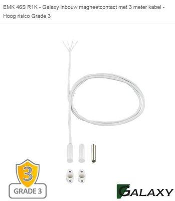 EMK-46S R1K - Galaxy Inbouw Magneetcontact - Hoog Risico Grade 3